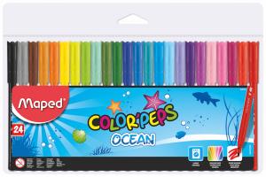 Canetas feltro Color'Peps Ocean 24_ref 845722-cópia