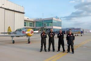 Sabias que a G Air ensina a fazer voo acrobático?