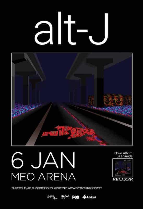 Alt-J estão de volta em janeiro