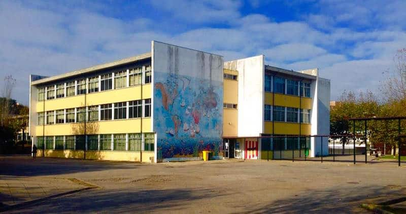 Escola Secundária de Ermesinde em vias te entrar em obras