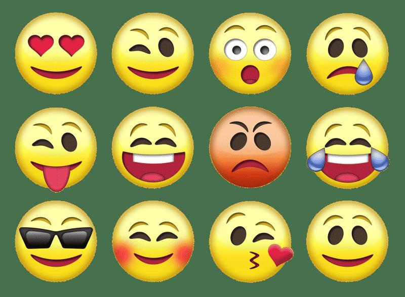 A cara que fazes é o emoji que envias
