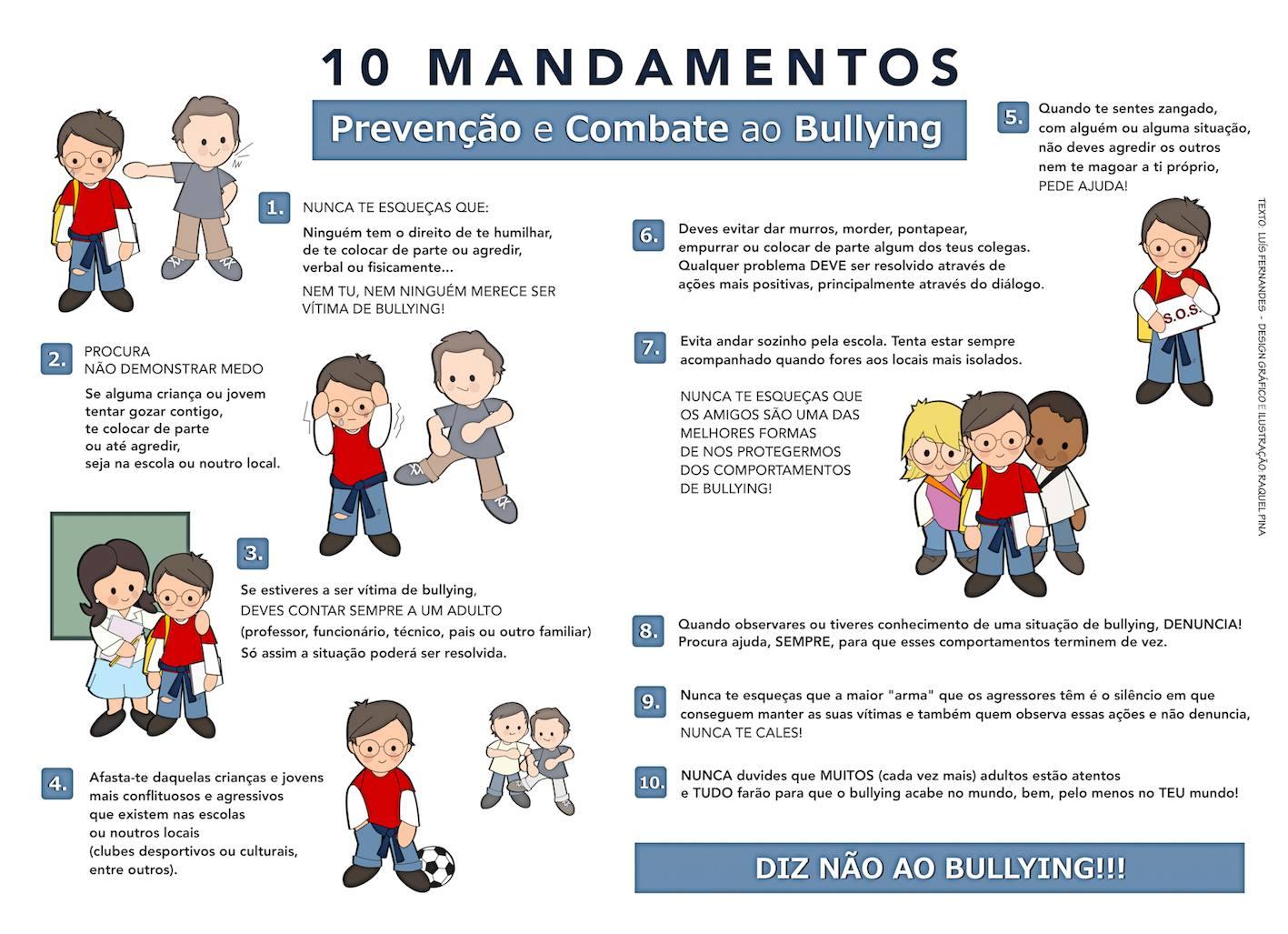 10 Mandamentos Antibullying