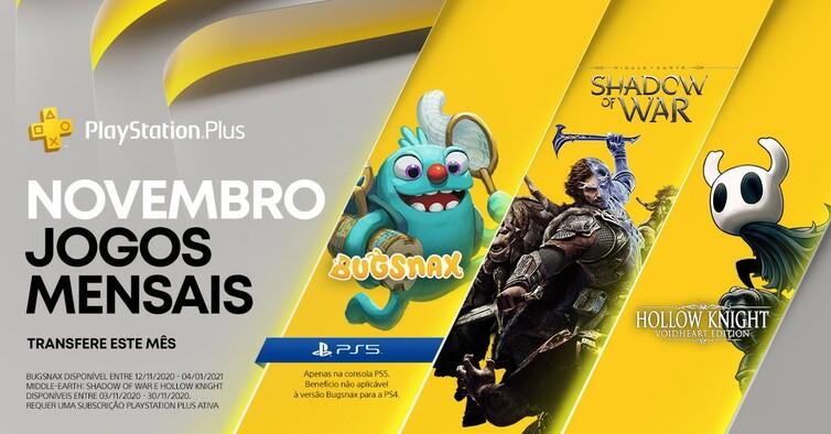 Playstation Plus Novembro