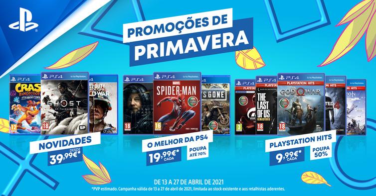 Promoções Primavera PlayStation