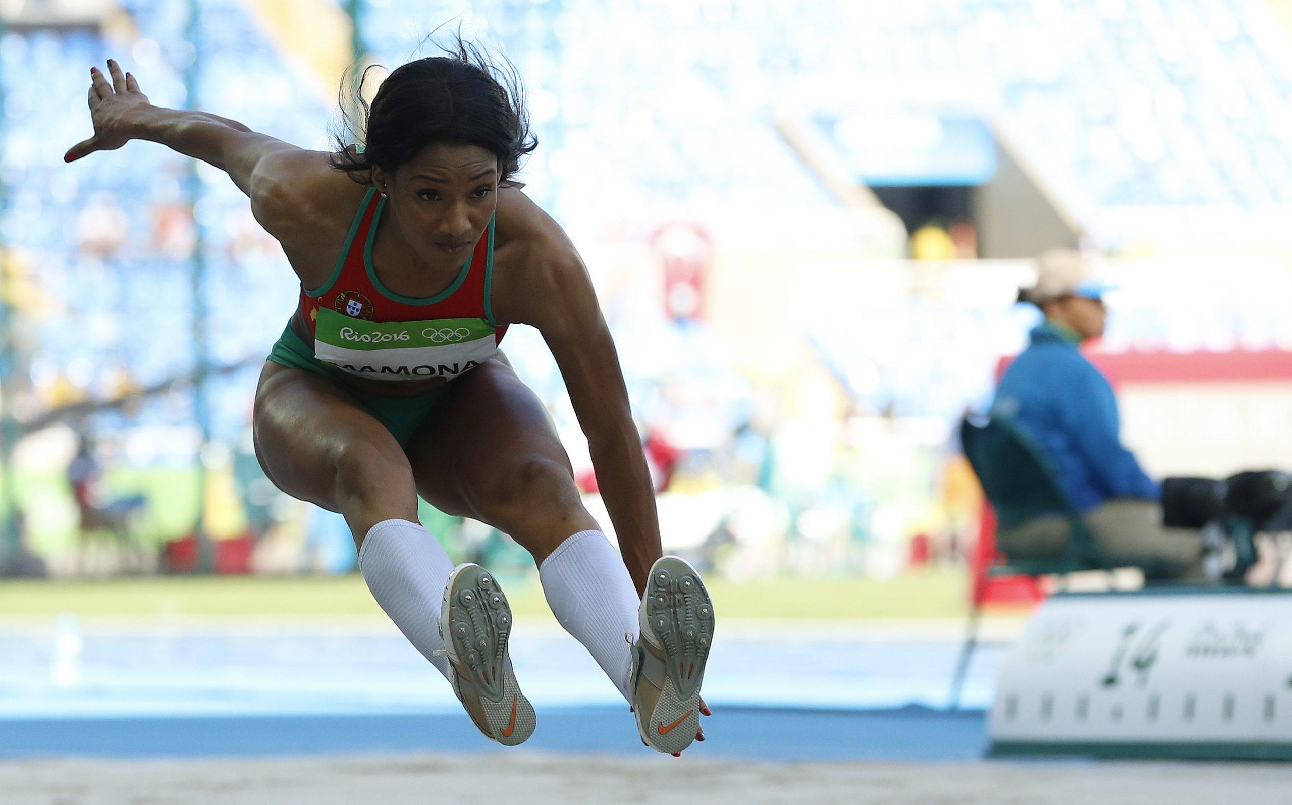 Qualificação do triplo salto feminino. Jogos Olímpicos Rio 2016.